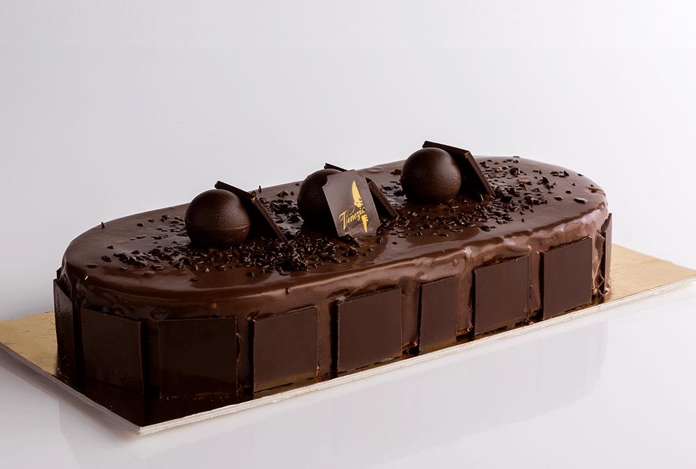 Bavarese al cioccolato fondente 70%