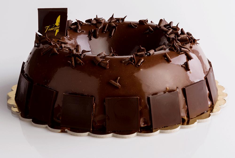 Bavarese al cioccolato fondente 80%